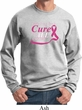 Breast Cancer Awareness Pray for a Cure Sweatshirt