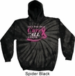 Breast Cancer Awareness Pray for a Cure Tie Dye Hoodie