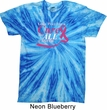 Breast Cancer Awareness Pray for a Cure Twist Tie Dye Shirt