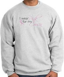 Breast Cancer Awareness Sweatshirts - I Wear Pink For My Cousin