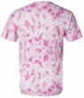 Breast Cancer Awareness T-shirt Dyenomite Ribbon Tie-Dye Adult Tee