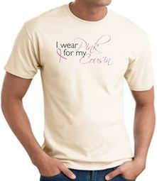 Breast Cancer Awareness T-shirts - I Wear Pink For My Cousin Tee Shirt