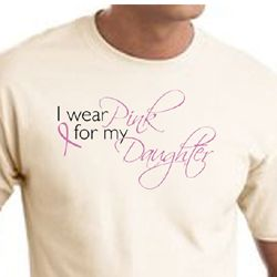Breast Cancer Awareness T-shirts - I Wear Pink For My Daughter