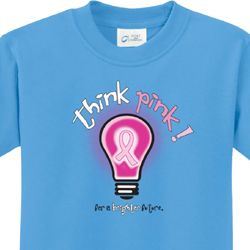 Breast Cancer Awareness Think Pink Kids Shirts