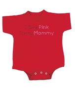 Breast Cancer Baby Rompers - I Wear Pink For My Mommy Infant Creepers