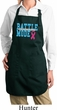 Breast Cancer Battle Mode Ladies Full Length Apron with Pockets