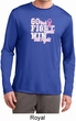 Breast Cancer Go Fight Win Mens Dry Wicking Long Sleeve Shirt