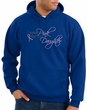 Breast Cancer Hoodie Sweatshirt Wear Pink For My Daughter Royal Hoody