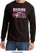 Breast Cancer Kicking Breast Cancer is Our Goal Long Sleeve Shirt