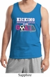 Breast Cancer Kicking Breast Cancer is Our Goal Mens Tank Top