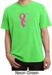 Breast Cancer Mens Shirt Ribbon Heart Pigment Dyed Tee T-Shirt