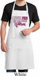 Breast Cancer Pink for My Hero Full Length Apron with Pockets