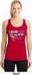 Breast Cancer Pink for My Hero Ladies Dry Wicking Racerback Tank Top