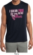 Breast Cancer Pink for My Hero Mens Sleeveless Moisture Wicking Shirt