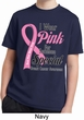 Breast Cancer Pink For Someone Special Kids Moisture Wicking Shirt