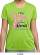 Breast Cancer Pink For Someone Special Ladies Moisture Wicking Shirt