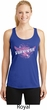Breast Cancer Survivor Wings Ladies Dry Wicking Racerback Tank Top