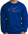 Breast Cancer Sweatshirt - Ribbon Pink For My Friend Royal Sweat Shirt