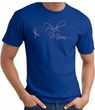 Breast Cancer T-shirt I Wear Pink For My Mom Royal Tee