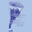 Bruce Lee Juniors T-shirt 10,000 Kicks Saying Light Blue