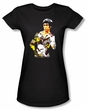 Bruce Lee Juniors T-shirt Body Of Action Black