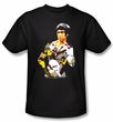 Bruce Lee Kids T-shirt Karate Body Of Action Youth Black
