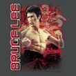 Bruce Lee Kids T-shirt Youth Fury Charcoal