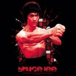 Bruce Lee Kids T-shirt Youth Shattering Fist Black