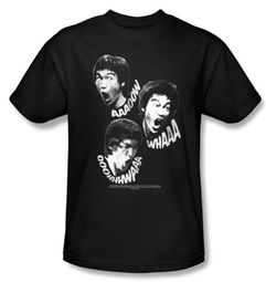 Bruce Lee Kids T-shirt Youth Sounds Of The Dragon Black
