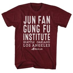 Bruce Lee Shirt Jun Fan Gung Fu Institute T-Shirt
