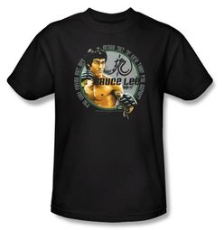 Bruce Lee T-shirt Adult Expectations Black
