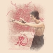Bruce Lee T-shirt Adult Power Of The Dragon Cream