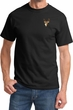 Buck Deer Patch Pocket Print T-shirt