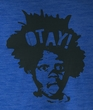 Buckwheat T-shirt Little Rascals The Big Otay Adult Sea Blue Tee Shirt