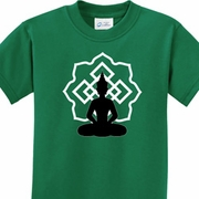 Buddha Lotus Pose Kids Shirts