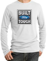 Built Ford Tough Long Sleeve Thermals - Ford Logo Adult Shirts