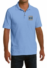 Built Ford Tough Shirt Ford Logo Mens Pique Polo Tee T-Shirt