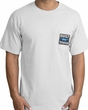 Built Ford Tough T-Shirts - Ford Logo Adult Pocket Print Tee Shirts
