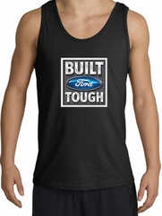Built Ford Tough Tanktop Logo Mens Black Tank Top