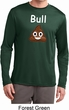 Bull Crap Mens Moisture Wicking Long Sleeve Shirt