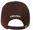 Butterfly Distressed Style Hat - Lackpard Cap - Dark Brown