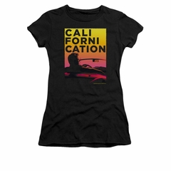 Californication Shirt Juniors Sunset Black T-Shirt