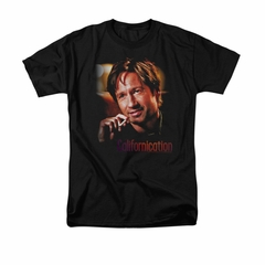 Californication Shirt Smoker Black T-Shirt