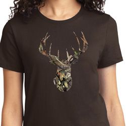 Camo Deer Ladies Mossy Oak Shirts