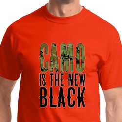 Camo is the New Black Mens Shirts