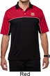 Canada Flag Patch Pocket Print Mens Polo Shirt