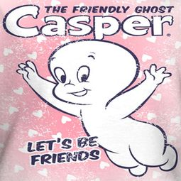 Casper The Friendly Ghost Shirts