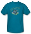 Catwoman Kids T-shirt Meow Catwoman Turquoise Tee Youth
