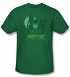 Catwoman T-shirt - Perrfect! Adult Kelly Green Tee