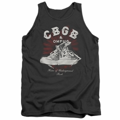 CBGB Shirt Tank Top High Top Shoes Charcoal Tanktop